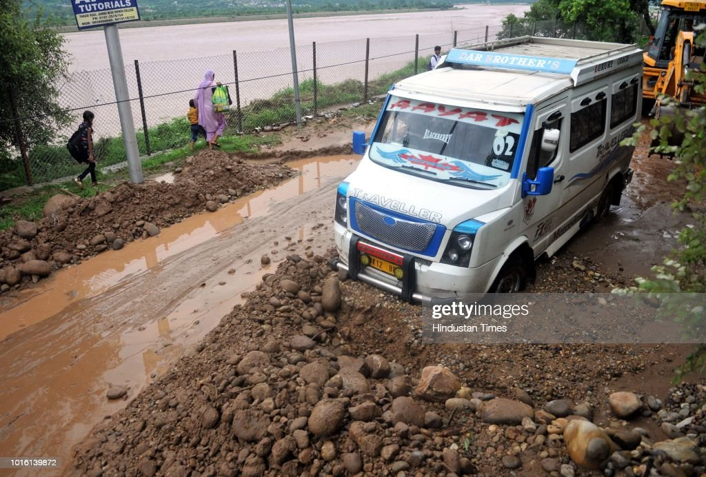 Heavy Rains Trigger Landslides In Jammu