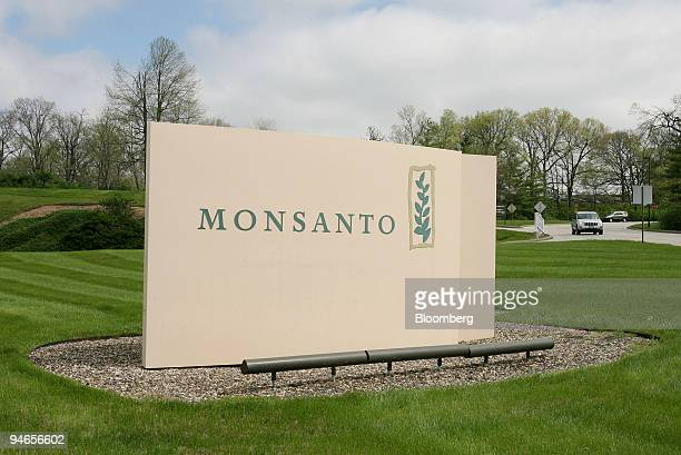 A vehicle leaves the campus of Monsanto Co headquarters in the suburbs of St Louis Missouri Wednesday April 4 2007 Monsanto vying to become the...