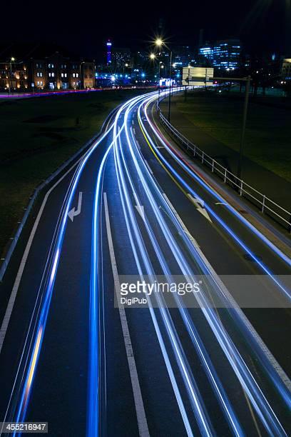 Vehicle Light Trails