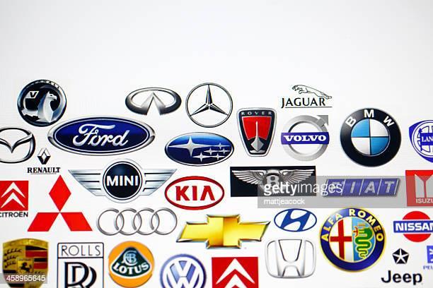 Del fabricante del vehículo logotipos