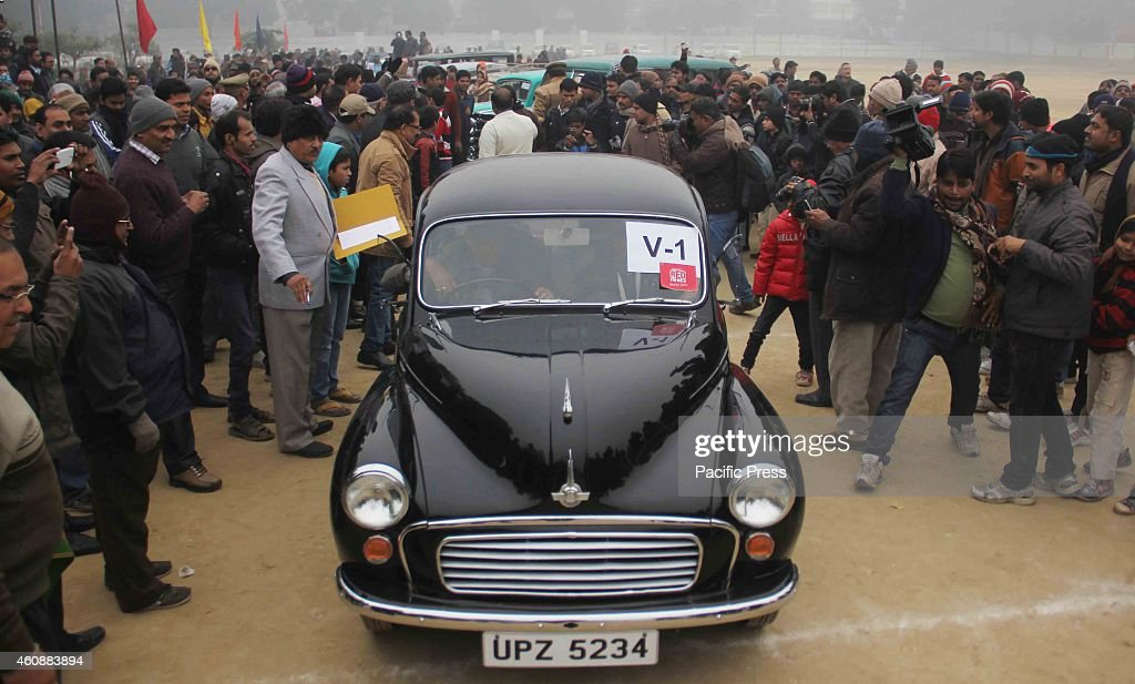 Vehicle owners take part in Vintage Car Rally organised by ...