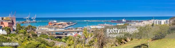 Fahrzeug Versand Fracht Liner an den Docks, Südafrika