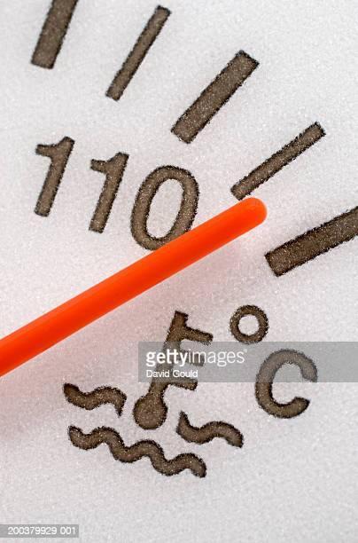 Vehicle temperature gauge