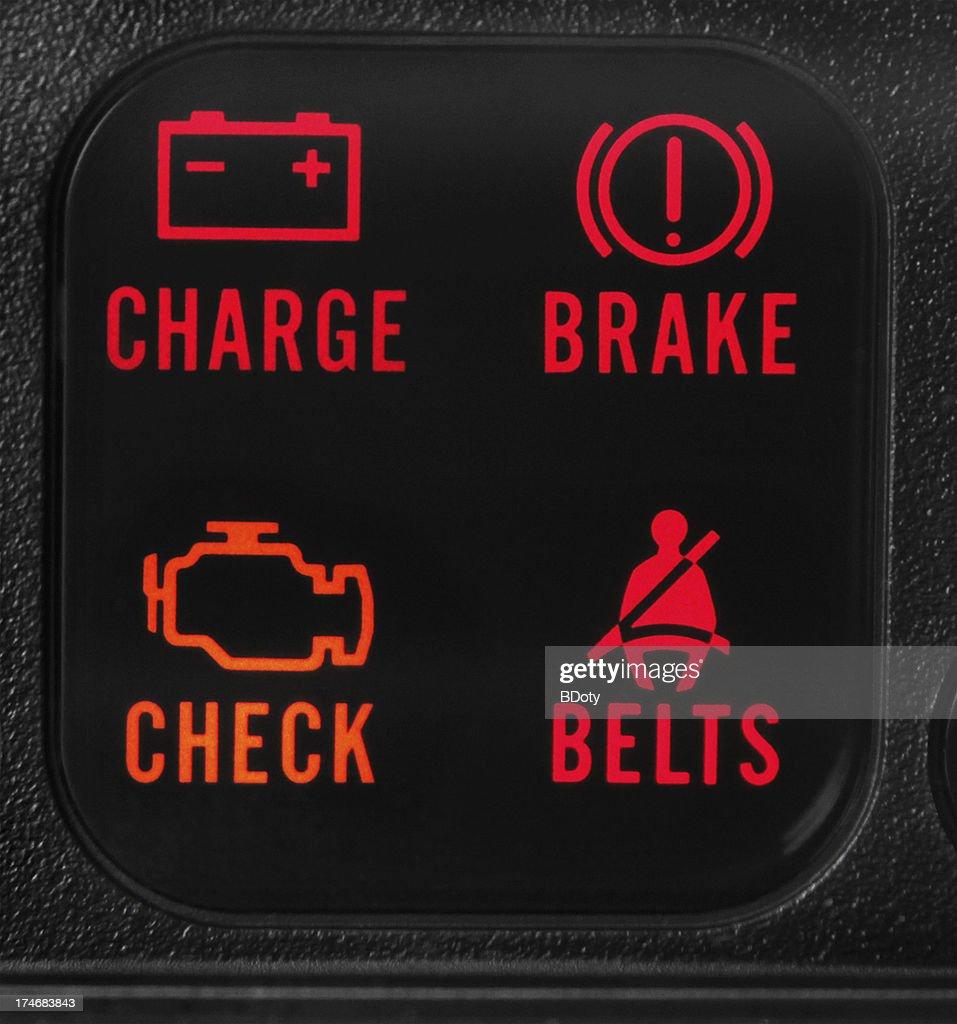 Vehicle Warning Lights : Stock Photo