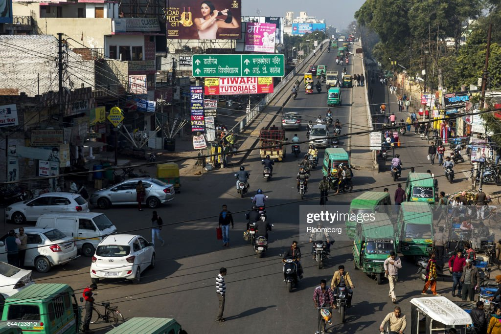 General Economy As Uttar Pradesh State Elections Continue : News Photo