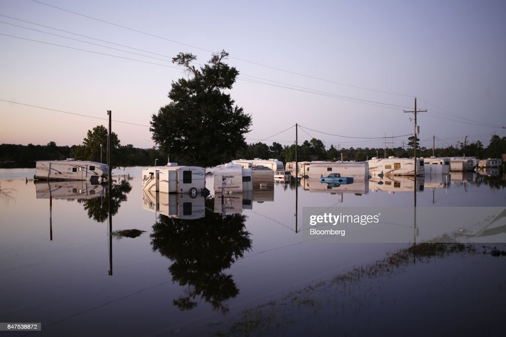 Hurricane Harvey Clean Up As Catastrophes Become A Lucrative Business : News Photo