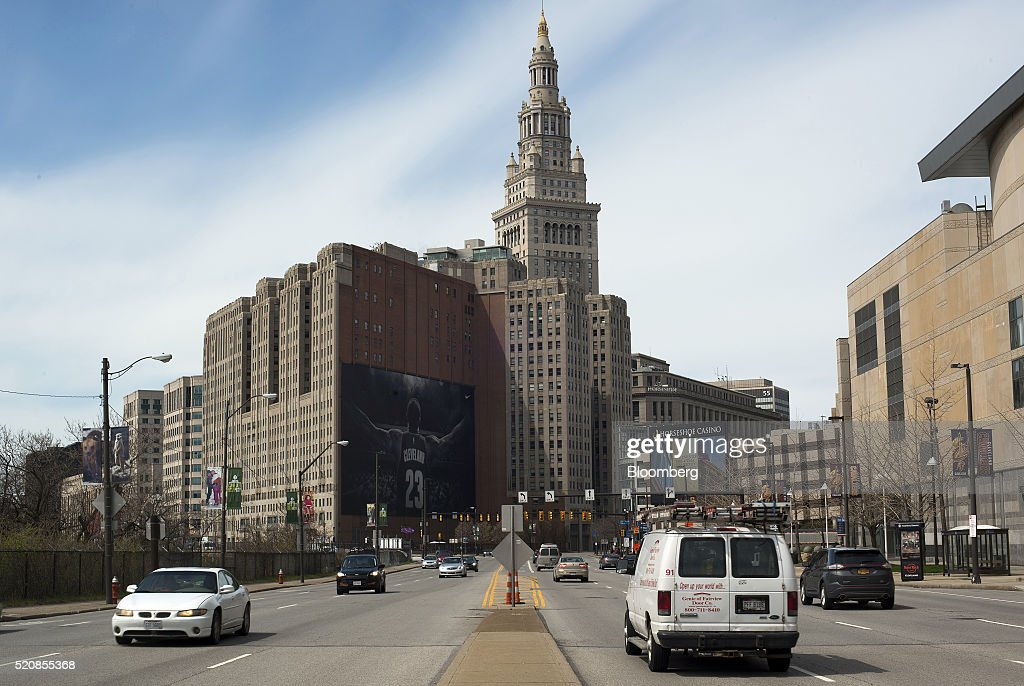 Summer of Trump Threatens Tattered Cleveland's Comeback Story : News Photo