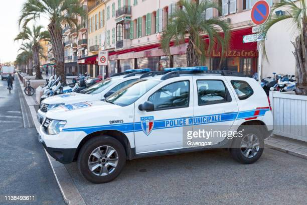 Vehicles of the Police Municipale of Cannes