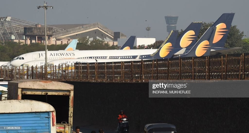 INDIA-ECONOMY-AVIATION-JET : News Photo