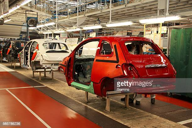 Vehicles production line