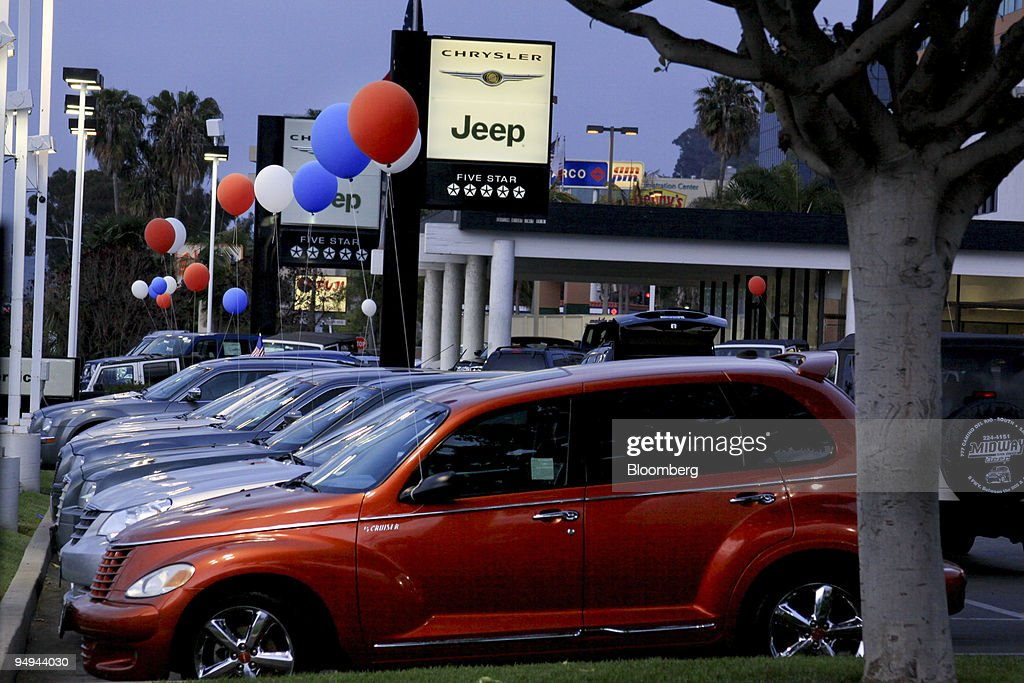 Charming Vehicles Sit On Display At Midway Chrysler Jeep In San Diego