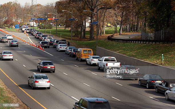 Garden state parkway stock photos and pictures getty images - Garden state parkway gas stations ...
