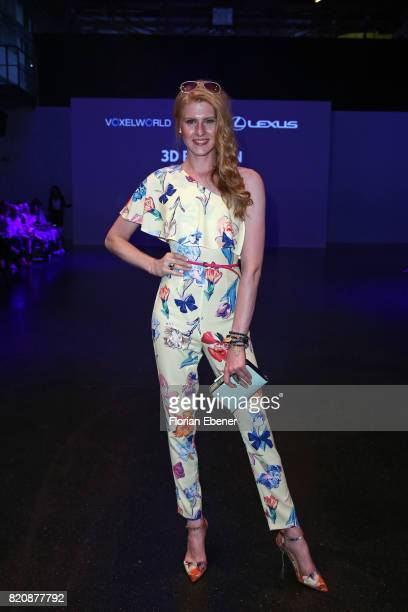 Veit Alex attends the 3D Fashion Presented By Lexus/Voxelworld show during Platform Fashion July 2017 at Areal Boehler on July 22, 2017 in...