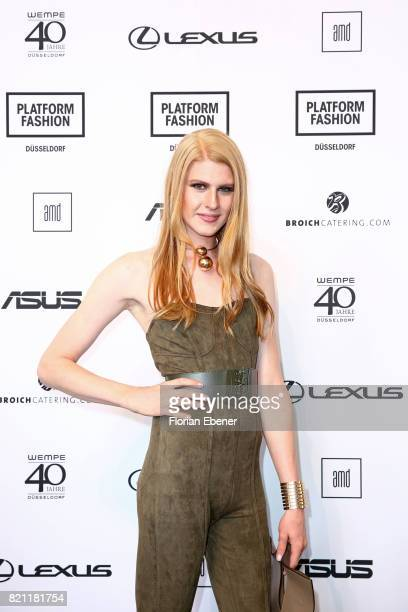 Veit Alex attends the AMD Exit17_2 show during Platform Fashion July 2017 at Areal Boehler on July 23 2017 in Duesseldorf Germany