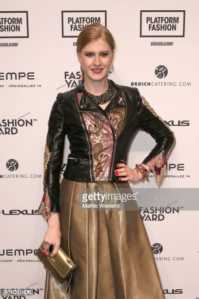Veit Alex attends the Fashionyard show during Platform Fashion January 2018 at Areal Boehler on January 27 2018 in Duesseldorf Germany