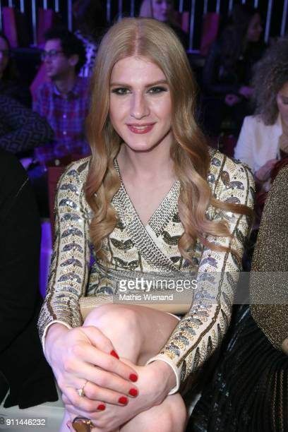 Veit Alex attends the 'Platform Fashion Selected' show during Platform Fashion January 2018 at Areal Boehler on January 28 2018 in Duesseldorf Germany