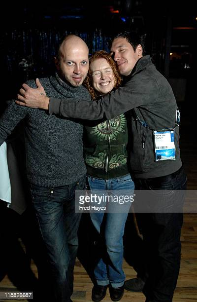 Veit Helmer Sue Divine and Kevin Lee Borton attend the ASCAP Brunch at Cisero's during the 2008 Sundance Film Festival on January 24 2008 in Park...