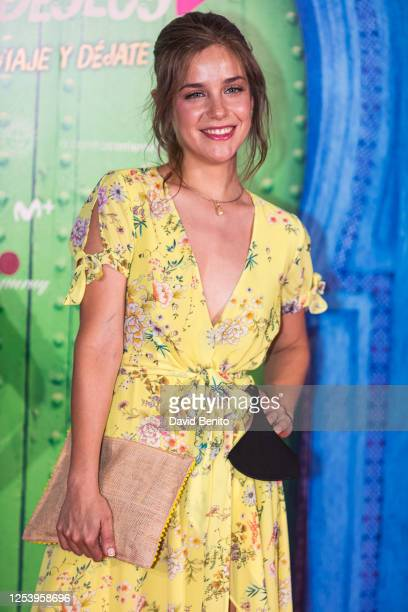 Veki Velilla attends 'La Lista de Los Deseos' Madrid Premiere photocall at Callao City Lights cinema on July 2 2020 in Madrid Spain This is the first...