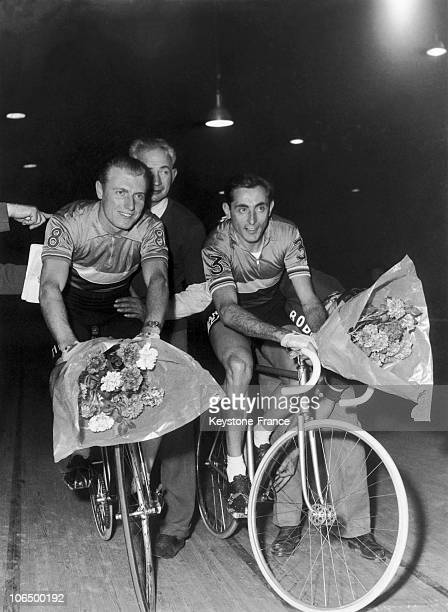 Vel D Hiv Andre Darrigade And Fausto Coppi Cyclists