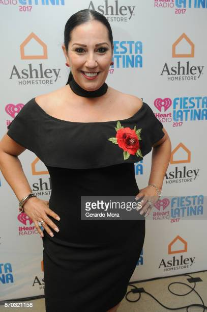 Velia Irene attends the iHeartRadio Fiesta Latina Celebrating Our Heroes at American Airlines Arena on November 4 2017 in Miami Florida