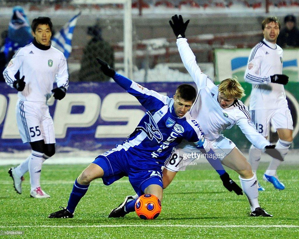 Sibir Novosibirsk v Tom Tomsk - Premier League : News Photo