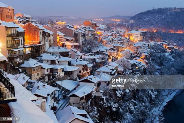 Veliko Tarnovo at Night