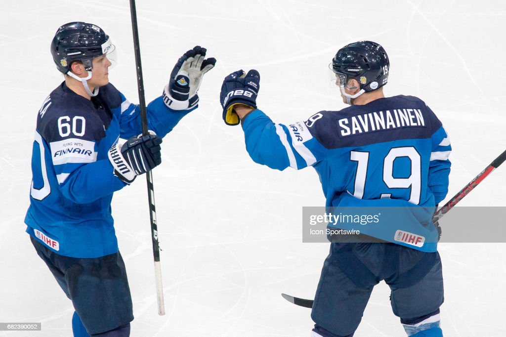 HOCKEY: MAY 10 IIHF World Championship - Finland v Slovenia : News Photo
