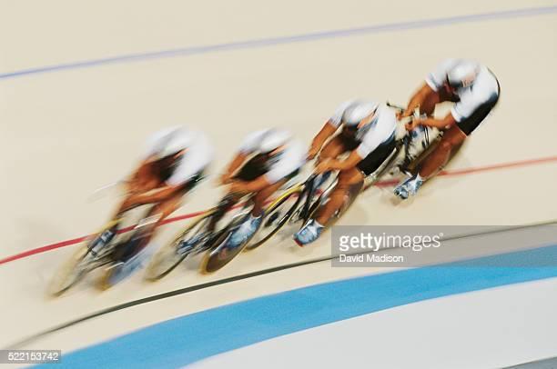 Velodrome Cycling Race