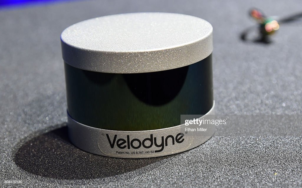A Velodyne Solid State Hybrid Ultra Puck Auto LiDAR Sensor