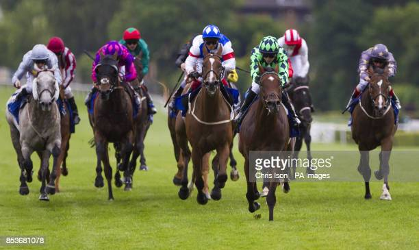 Velox ridden by Cam Hardie wins the Coral Challenge during the CoralEclipse day at Sandown Racecourse Sandown