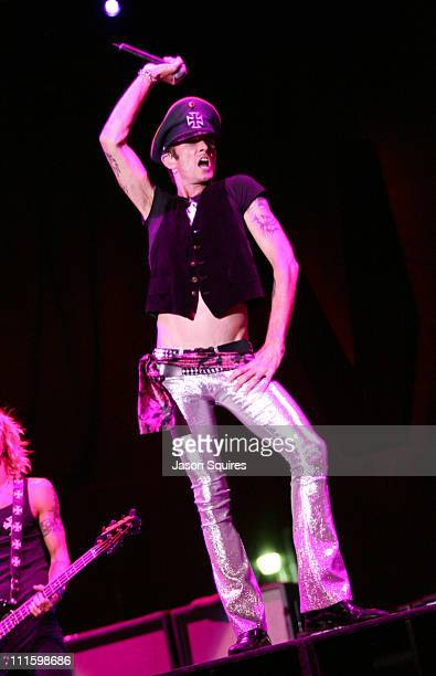Velvet Revolver during Voodoo Music Experience 2004 Day Two Show at City Park in New Orleans Louisiana United States