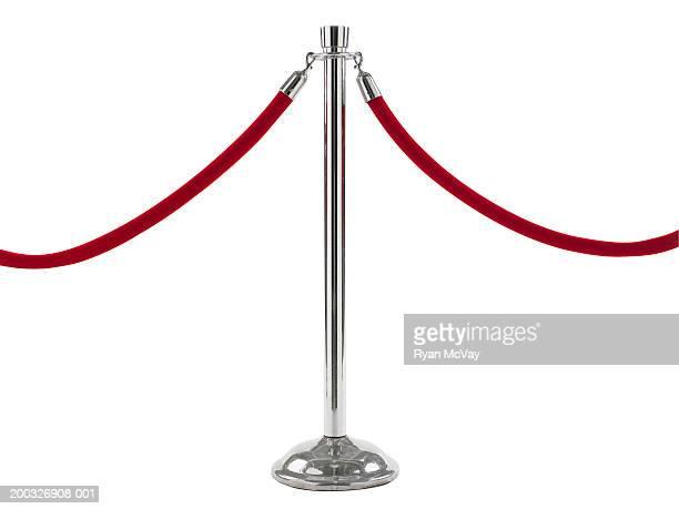 Velvet rope barrier