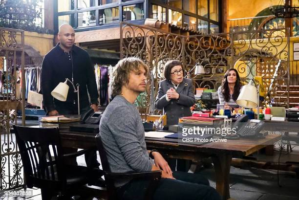 'Vendetta' Pictured LL COOL J Eric Christian Olsen Linda Hunt and Daniela Ruah Callen and Sam join forces with Anna Kolcheck and the Bureau of...
