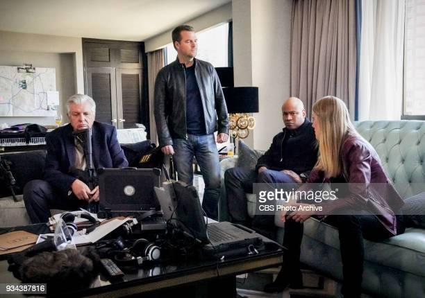 'Vendetta' Pictured Vyto Ruginis Chris O'Donnell LL COOL J and Bar Paly Callen and Sam join forces with Anna Kolcheck and the Bureau of Alcohol...