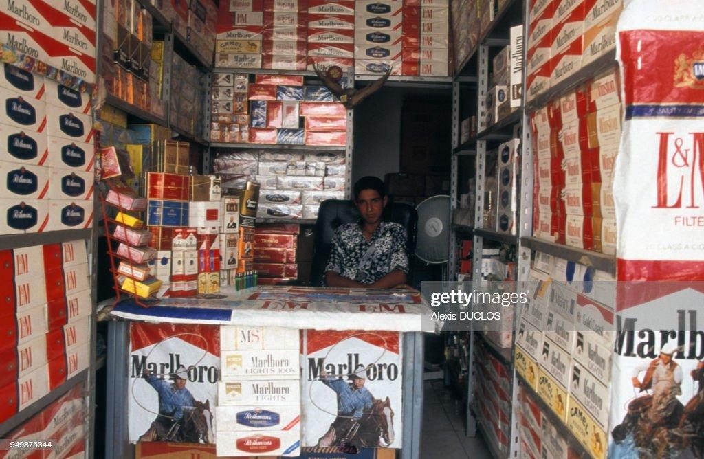 Bureau de tabac à tripoli pictures getty images