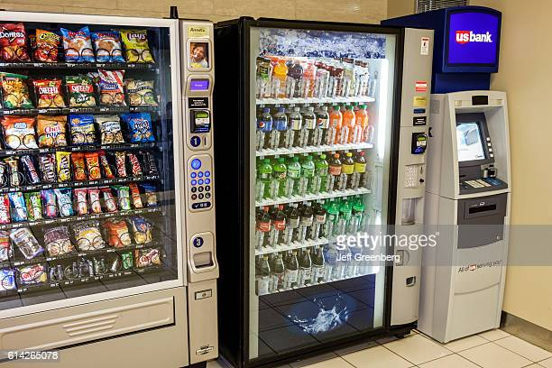 Vending machines in LambertSt Louis International Airport