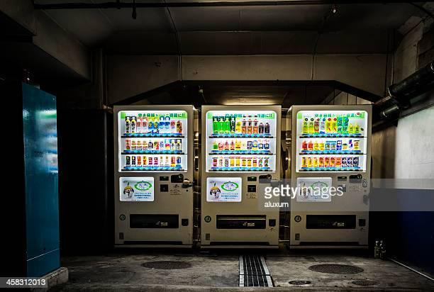 日本の自動販売機、東京