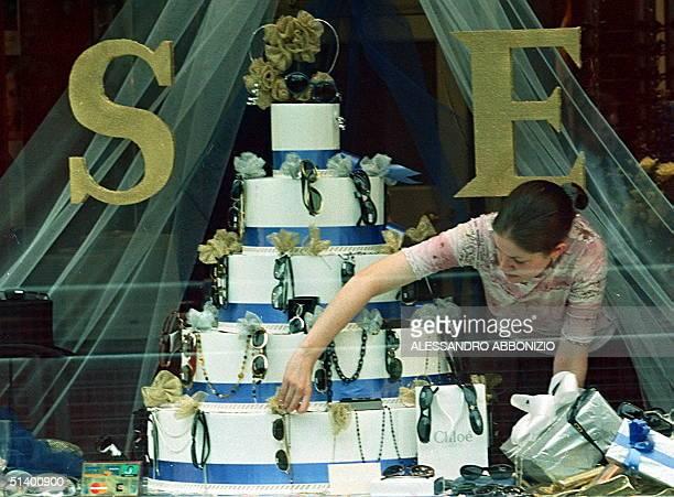 Edward And Sophie Wedding Cake