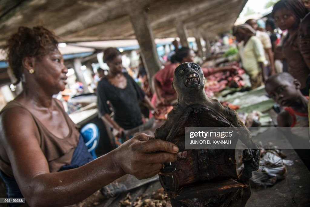 DRCONGO-HEALTH-EBOLA-MARKET : News Photo