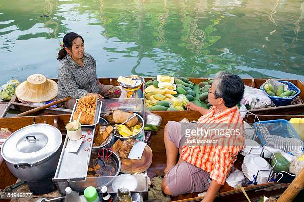 vendor in floating market