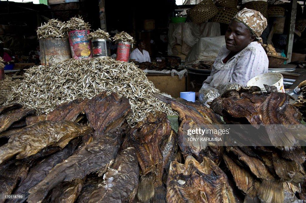 KENYA-FOOD-DRIED-FISH : News Photo