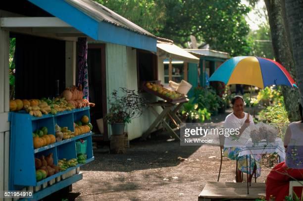 Vendor Under Umbrella