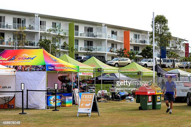 vendors at pet expo a free event for animal lovers - sponsorship stock pictures, royalty-free photos & images