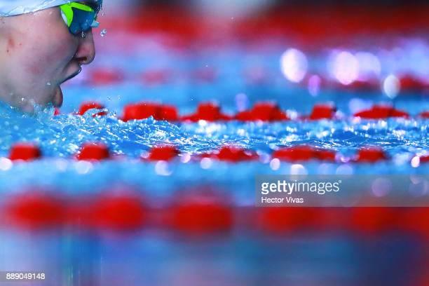 Vendula Duskova of Czech Republic competes in Women's 200 m Individual Medley SM78 during day 6 of the Para Swimming World Championship Mexico City...