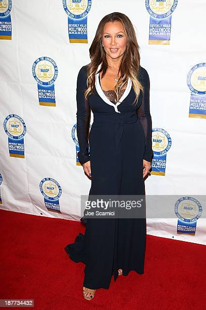 Venessa Williams arrives at the 23rd annual NAACP Theatre Awards at Saban Theatre on November 11 2013 in Beverly Hills California