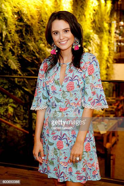 Venetia Falconer attends the book launch of Matthew Williamson Fashion Print Colouring by Laurence King Publishing at Anthropologie on September 8...