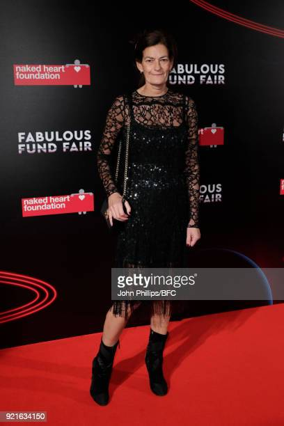 Venetia Scott attends the Naked Heart Foundation's Fabulous Fund Fair during London Fashion Week February 2018 at The Roundhouse on February 20 2018...