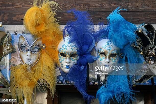 Venetian Carnival Mask Venice Veneto Italy