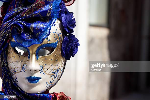 Venetian Carnival Masks on Sale Market