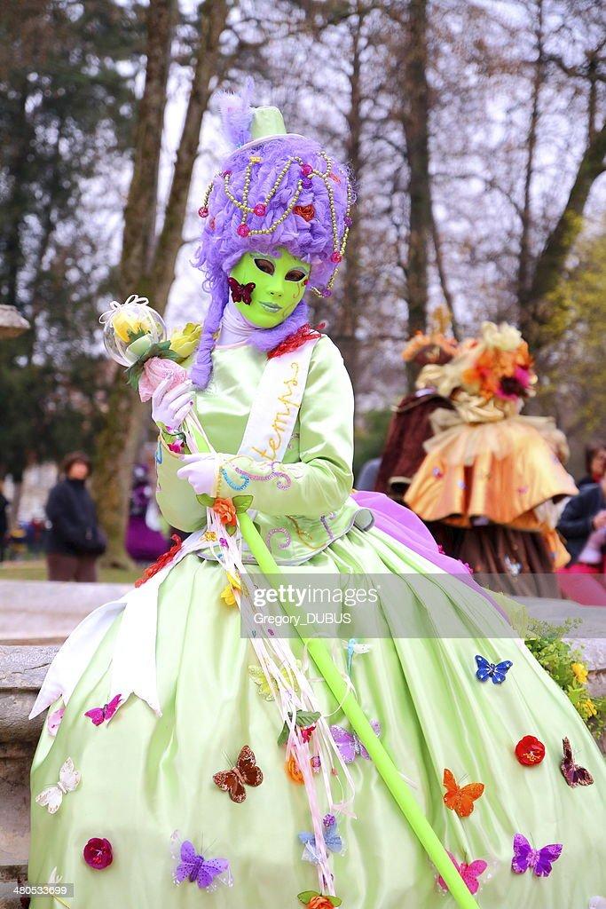 Venetian carnival : Stockfoto